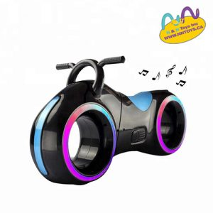 Balance baby motorcycle toy with two led lighting whee