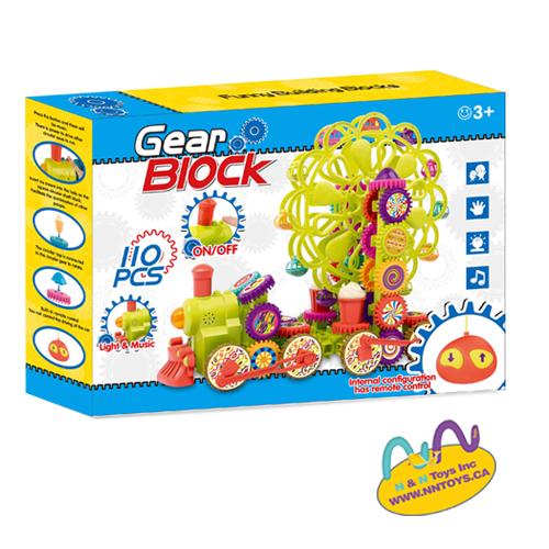 110PCS music remote control Gear block