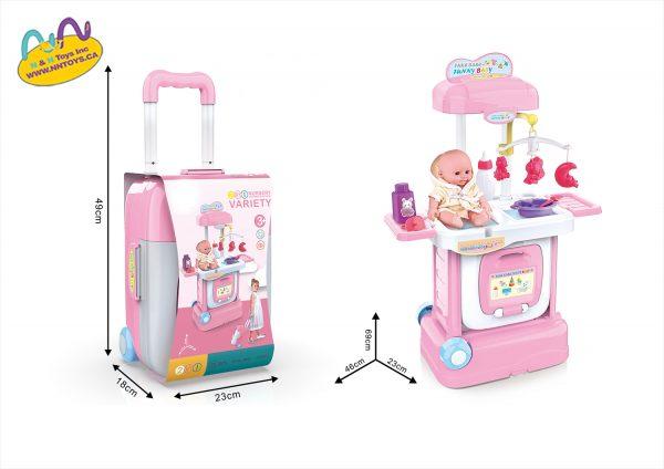 2 In 1 Nursery Luggage Set 22pcs