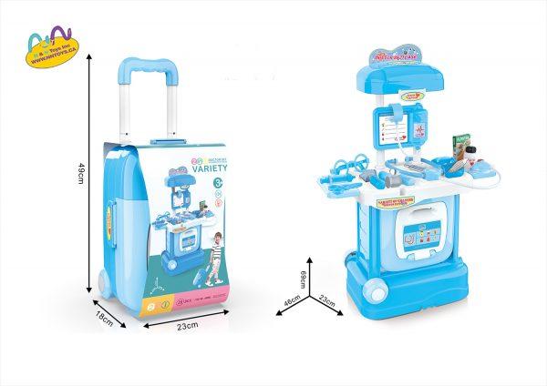 2 In 1 Medical Luggage Box Set 29pcs